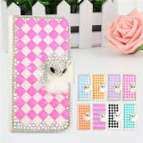 Full Cover Bling Diamond Rhinestone Mobile Phone Cover for iPhone 6 Samsung S6 Case