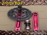 Bicycle Parts/Alloy Crank Sets/Hollowed Arm/Isis Drive or Square Tapered
