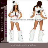 Wholesale Sexy Snowman Romper Adult Party Costume (TLQZ7668A)