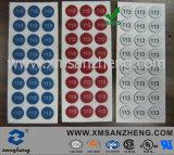 Custom PC Glossy Self Adhesive Rain Resistant Full Color Sealed Labels