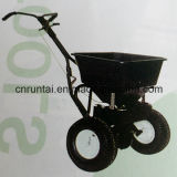 Black Two Wheels Steel Garden Tool Cart