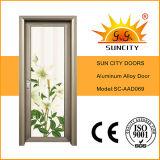Indian Design Aluminum Bathroom Doors (SC-AAD069)