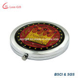 Custom Logo Epoxy Round Pocket Mirror for Sale