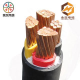 PVC Insulated Copper Cable 4 Core 35mm2 95mm Electric Wire Cable