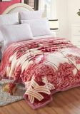 Double Ply High Quality 5 Kgs Printed Mink Blanket (SR-B170729-6)