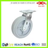 125mm Rotating High Elastic Rubber Wheel (P701-34FK125X50)