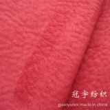 100% Polyester Micro Suede Fabric with Knitted Backing