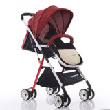 Lightweight portable Blue Baby Carriage Stroller with EVA Wheels