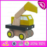 2015 Best Price Wooden Excavator Toy for Kids, Superior Quality Wooden Toy Excavator for Children, Wholesale Excavator Toy W04A092