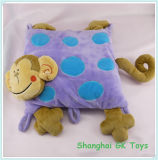 Cute Monkey Cushion Rectangular Plush Monkey Cushion