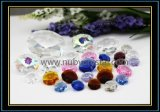 Crystal Octagon Beads for Crystal Chandelier/Beaded Curtain 2 Holes (NU-DS7500)