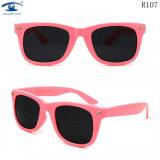 Top Selling Plastic Material Kid Sunglasses (R107)