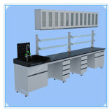 China Steel Frame Dental Lab Table with Sink