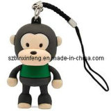 Promotional Monkey USB Flash Drive with PVC Material (BXF--PV008)