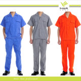 Factory Direct Custom High Quality Embroidery Cotton Work Wear Uniform Overall (U-02)