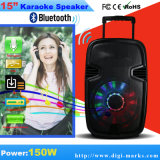 15′ Karaoke Speaker FM MP3 Display Bluetooth Speaker
