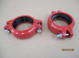 Cast Iron Clamps for Grooved Pipe Connection 6′′