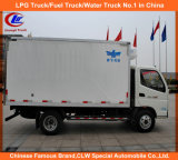 2tons 3tons 5tons Foton Mini Frozen Food Cooling Van Truck