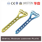 Colorful OEM Titanium Locking Plate
