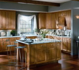Modern Solid Wood High Quality Standard Kitchen Cabinet #188