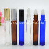 10ml Blue Glass Cobalt Roll on Bottle and Blue Bottle with Stainless Metal Roller Ball