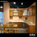 2016 Welbom Custom L-Shape Wood Kitchen Furniture