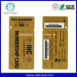 2 in 1 Combo Barcode Key Tag Plastic PVC Membership Card