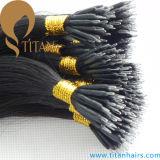Remy Human Hair Pre Bonded Nano Ring Hair Extension