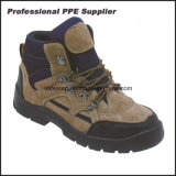 Low Price PU Injection Mens Leather Work Boots for Heavy Work