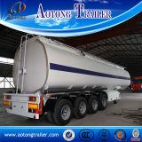 Front Lifting Axle 54 Cbm Oil Fuel Tank Semi Trailer
