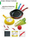 Handle Coated Aluminium Non-Stick Frying Pan for Cookware Sets SX-YT-A016