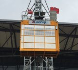 Variable Frequency Sc200/200gz Construction Lift Building Hoist