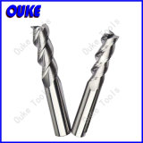 Uncoated Carbide End Mill Cutter for Aluminum and Alloy