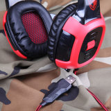CE/RoHS Stereo Wired Gaming Headset with Vibration Function (SA-906)