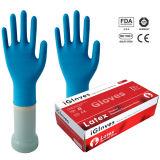 9 Inch Malaysia Natural Rubber Disposable Examination Latex Glove