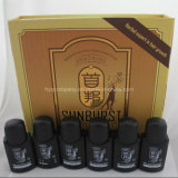 6bottles /Set Arabic and English Original Sunburst Hair Growth Nourishing Liquid