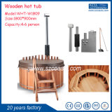Red Cedar Wood Outdoor SPA Hot Tub for 2-8persons