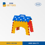 Kid′ S Folding Stool with Plastic Material for Children
