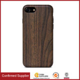 Luxury Soft Wood IMD TPU Cell Phone Case for iPhone 8 7