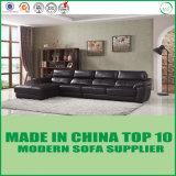 Modular Home Furniture Modern Leather Corner Sofa