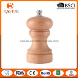 Small Size Beech Wood Manual Salt Pepper Mill