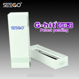 Sleek Stainless Steel G-Hit Gib-2 Battery E Cigarette Mod Battery