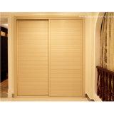 Oppein Simple 2 Doors Wood Clothing Wardrobe (OP-YG11162)