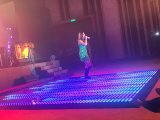 Hot Sale Wedding Disco Decoration High Quality LED Glass Dance Floor Xxx Viedo Event Flooring