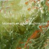 Polished Natural Green Honey Stone Onyx for Tile, Slab