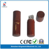 2014 Wholesale Round Wood USB Flash Memory
