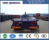 Cimc 40FT Cimc Dump Skeleton Chassis Semi Truck Trailer Chassis
