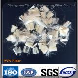 High Strength and Low Elongation Polyvinyl Alcohol (PVA) Fiber for Motar Concrete