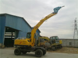 Dual-Drive Wheel Excavator with Crusher (60/85/130)