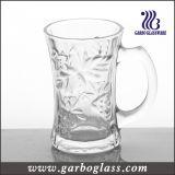 7oz Glass Mug with Embossed Design (GB092007CM)